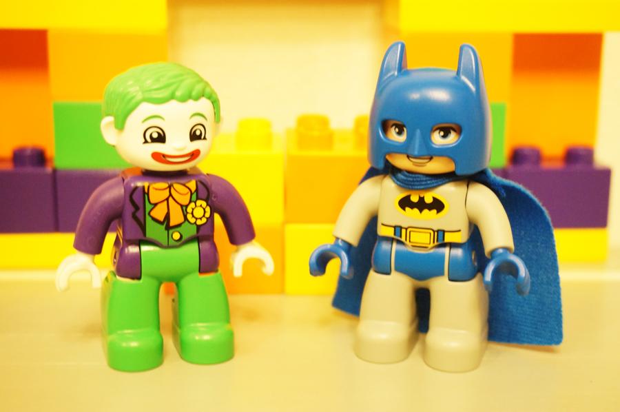 デュプロバットマンとジョーカー