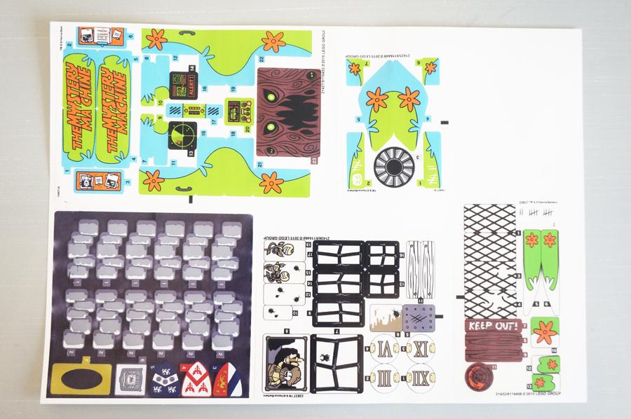 レゴのシールを自作