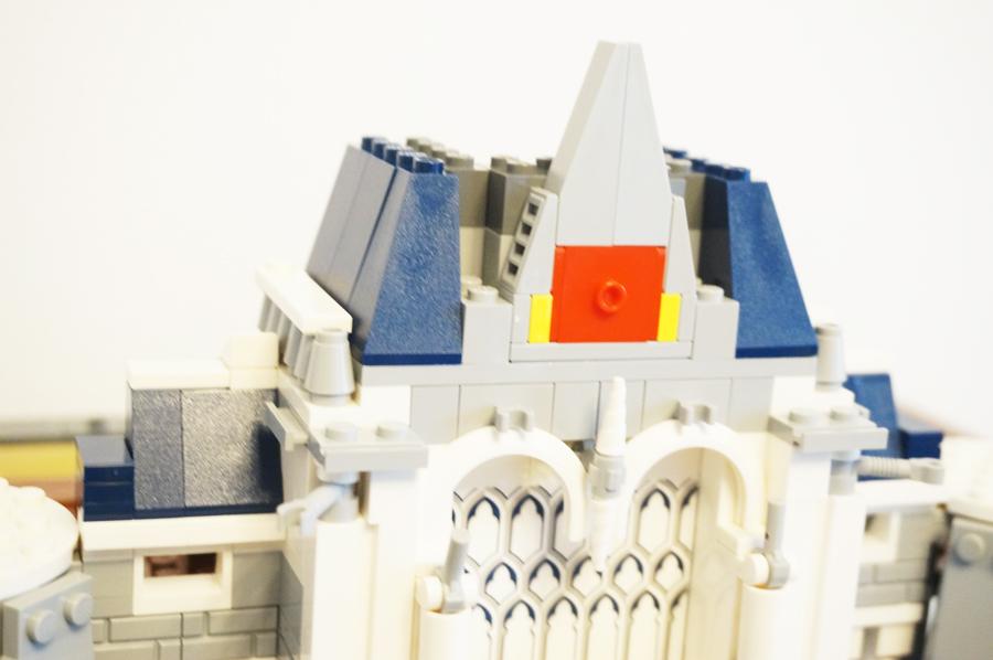 レゴディズニーキャッスルの入り口の上部分