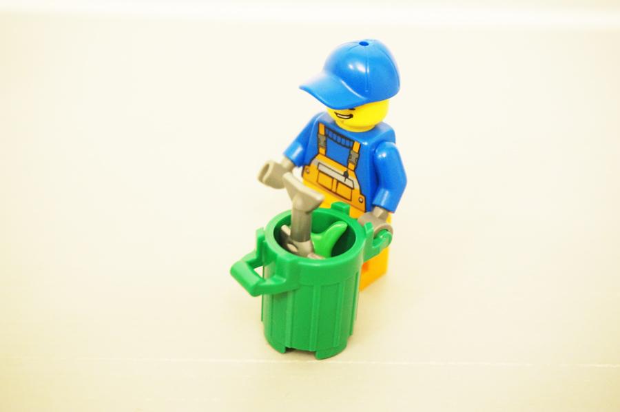 レゴジュニアゴミ収集車のゴミ箱