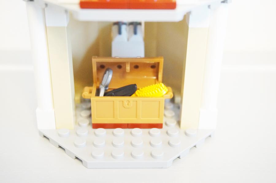 レゴのラプンツェルのお部屋