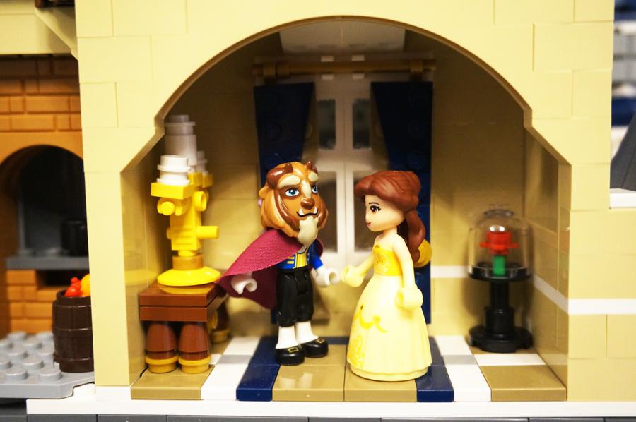 レゴの美女と野獣