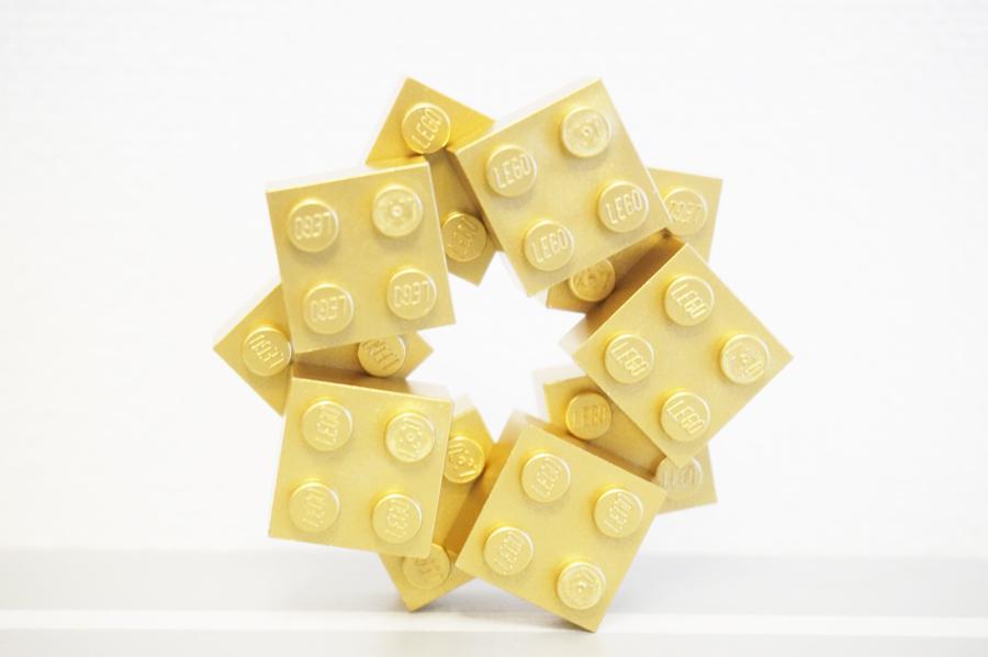 レゴクリスマスオーナメント星