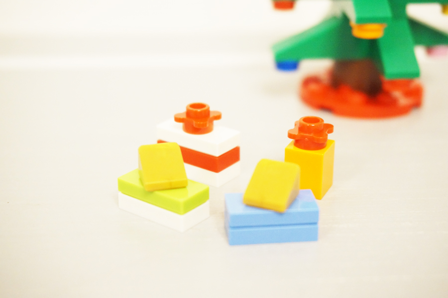 レゴのクリスマスプレゼントボックスの作り方