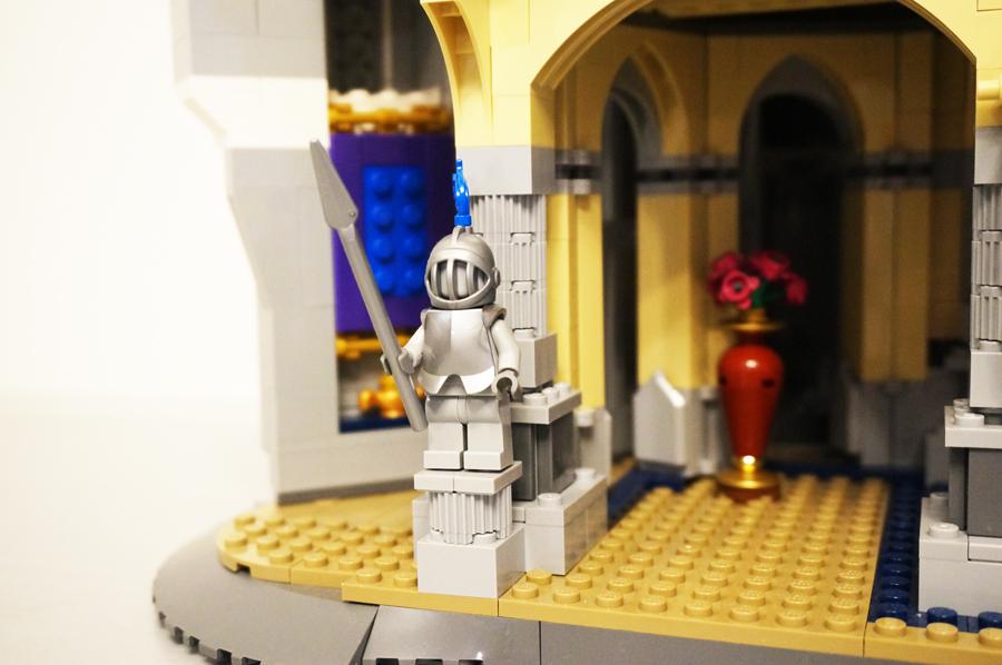 レゴディズニーキャッスル(シンデレラ城)魔法の絨毯