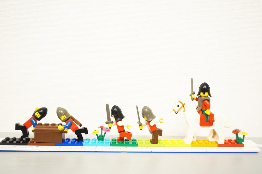 レゴの定規でお城シリーズ