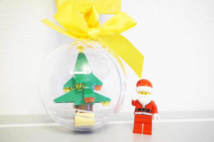 レゴクリスマスオーナメントサンタさん