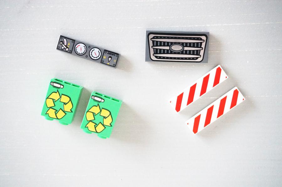 LEGO10680プリントパーツ
