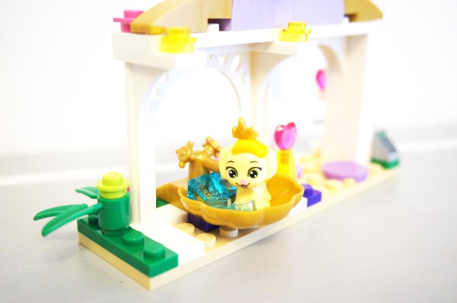 41140レゴロイヤルペットデイジーのビューティーサロンの貝殻パーツのお風呂