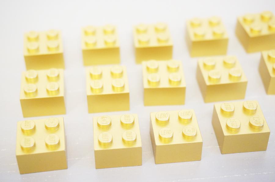レゴクリスマスオーナメントのgoldブロック