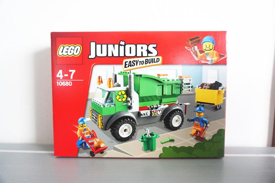 LEGO10680ゴミ収集車