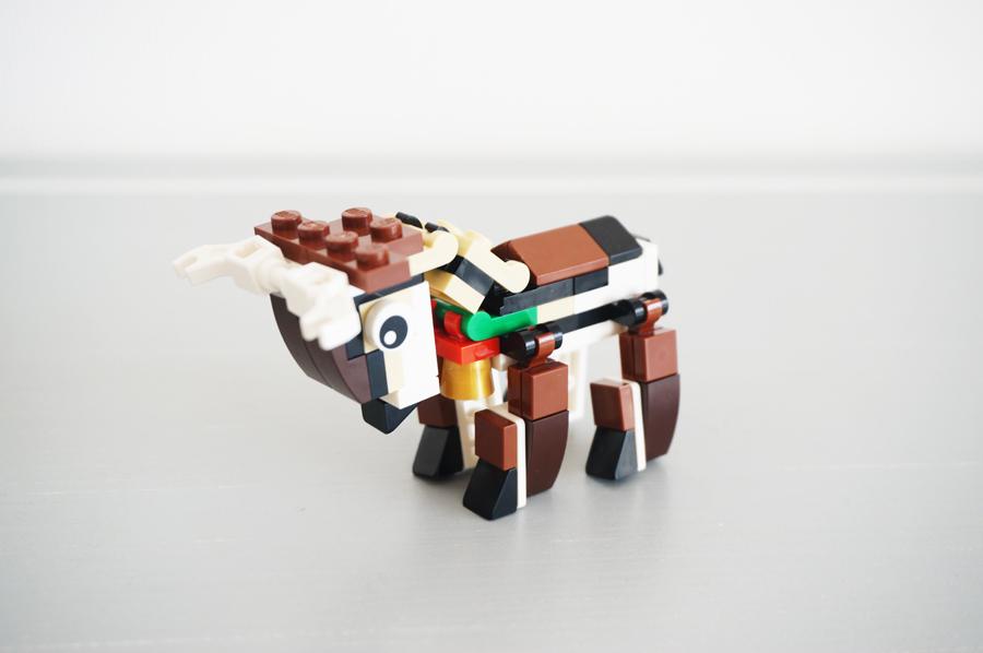 レゴクリスマスのトナカイ