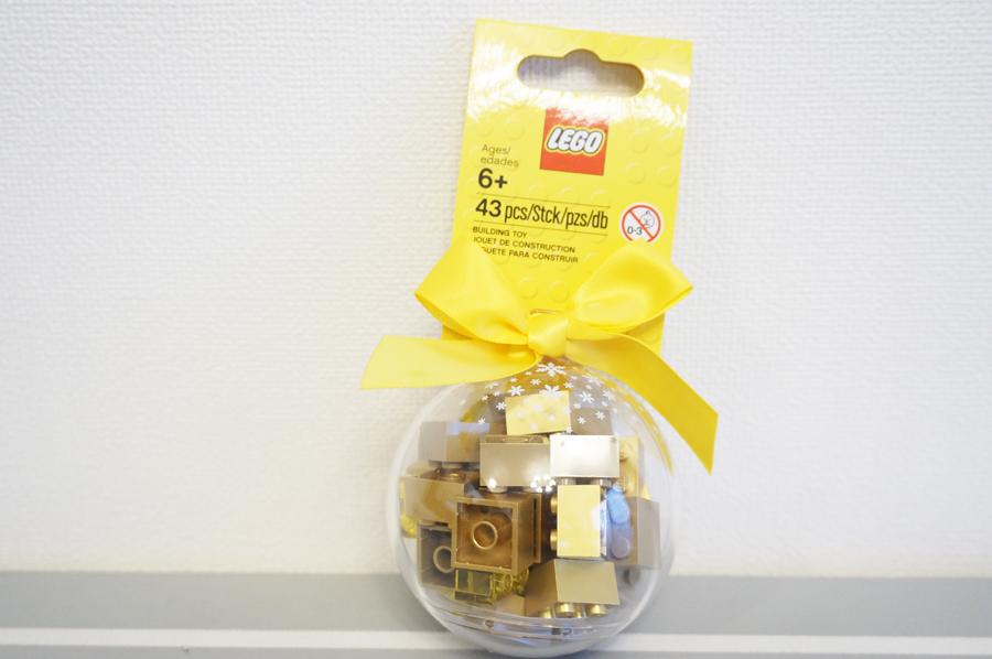LEGOChristmasornamentgold