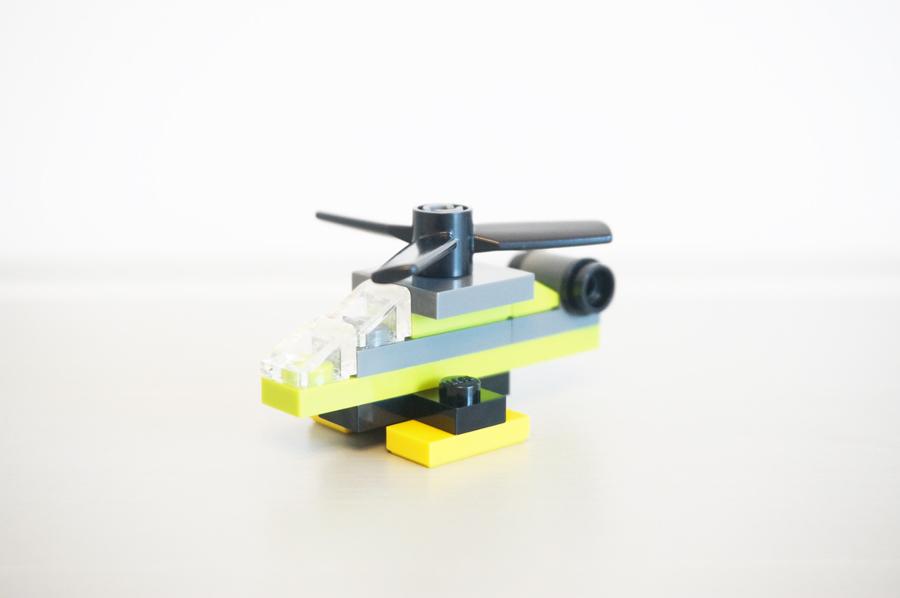 レゴラジコン飛行機