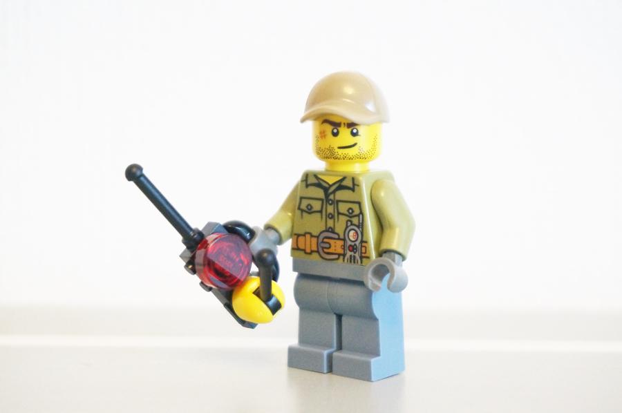 レゴおじさんのミニフィグ