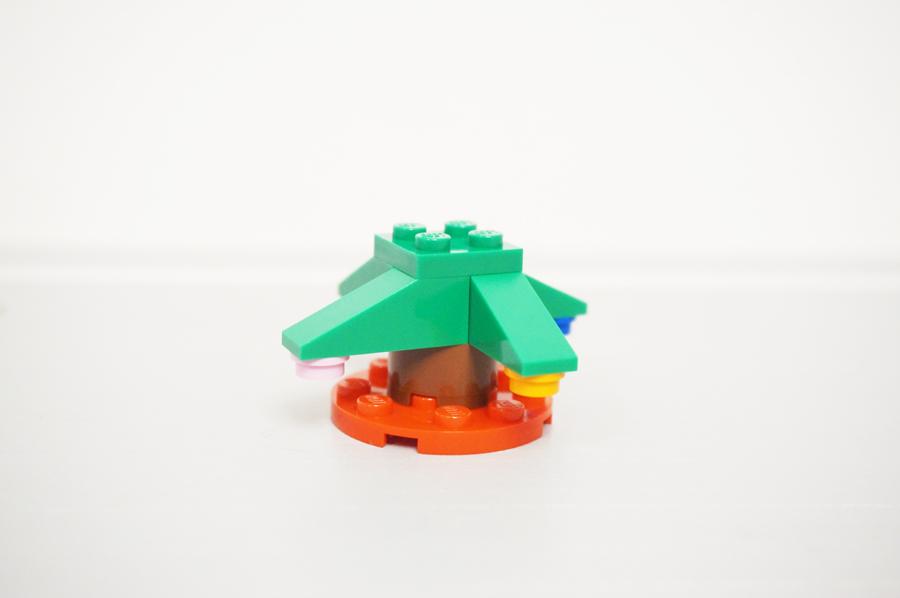 レゴクリスマスツリーの作り方