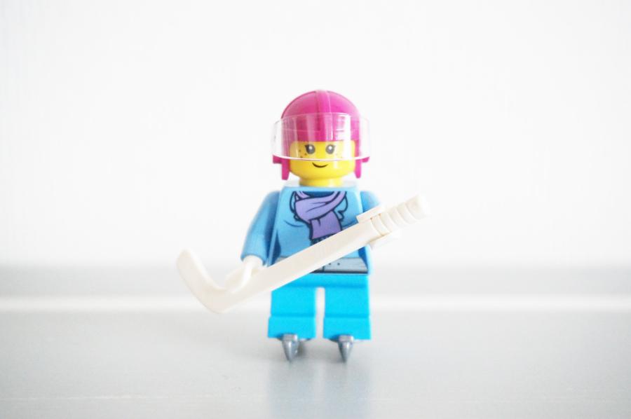 レゴ女の子のアイスホッケー