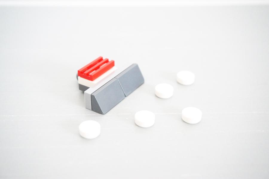 レゴ除雪機