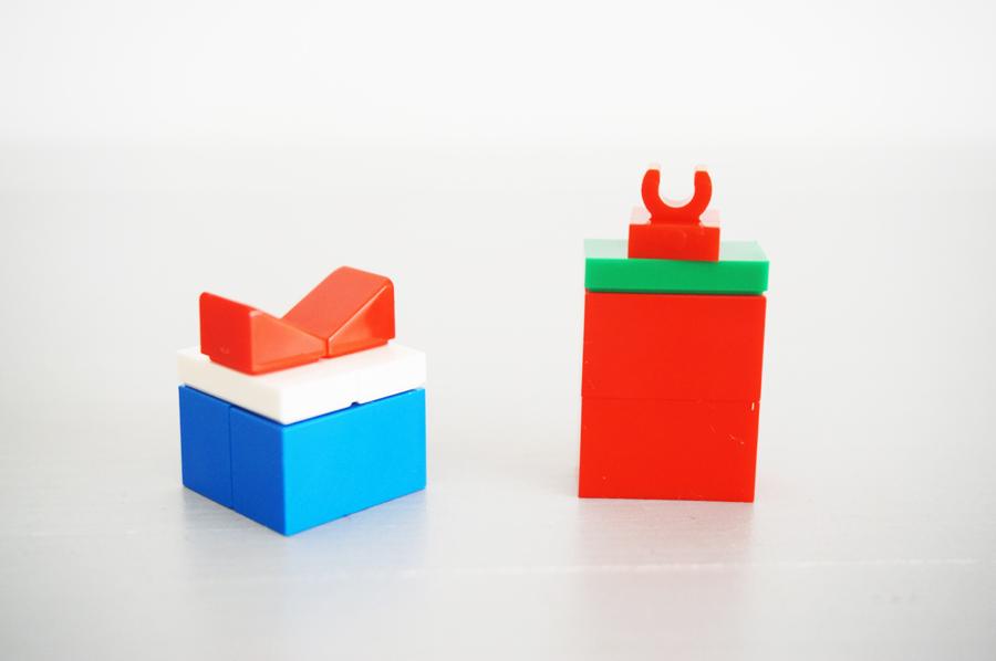 レゴでプレゼント