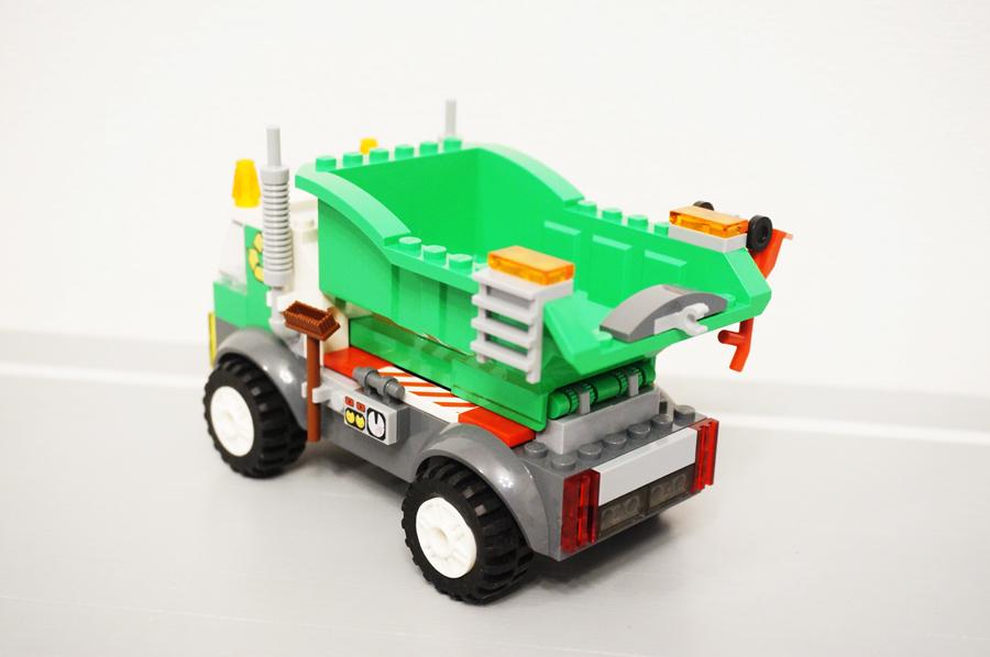 レゴジュアニゴミ収集車モップ