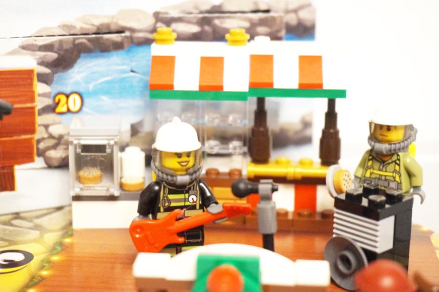 歌う消防士さん