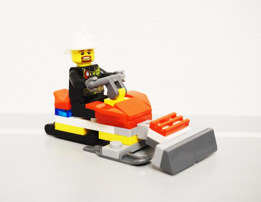 レゴ消防士