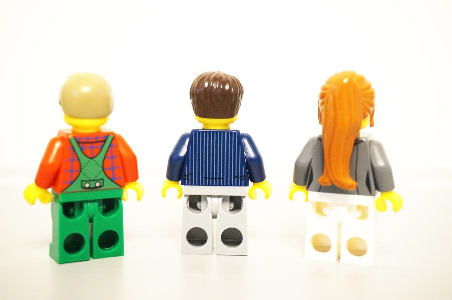 レゴ10249ミニフィグ