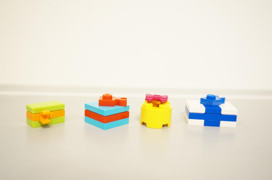 レゴのマイクロビルドプレゼント
