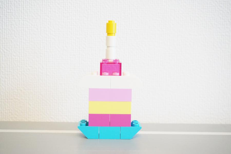 レゴバースデーケーキ