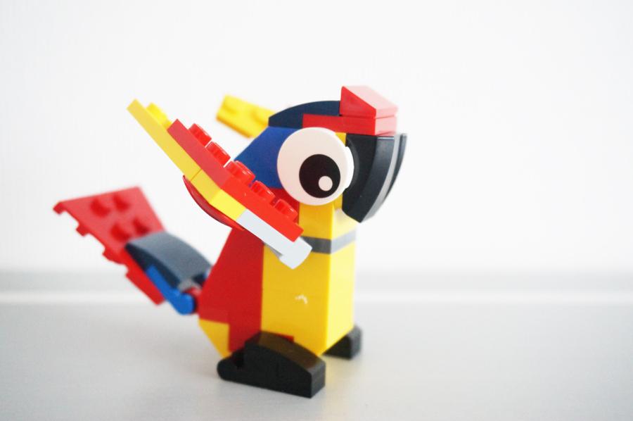 LEGO30472オウムのミニキット