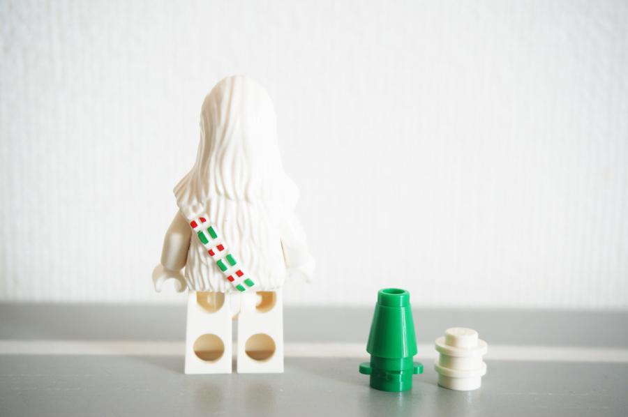 レゴ白いチューバッカ