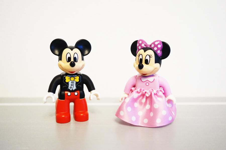 レゴデュプロのミッキーとミニー