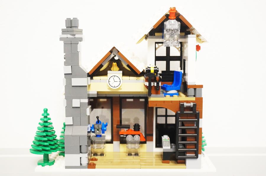 10249レゴ冬のおもちゃ屋さん裏側