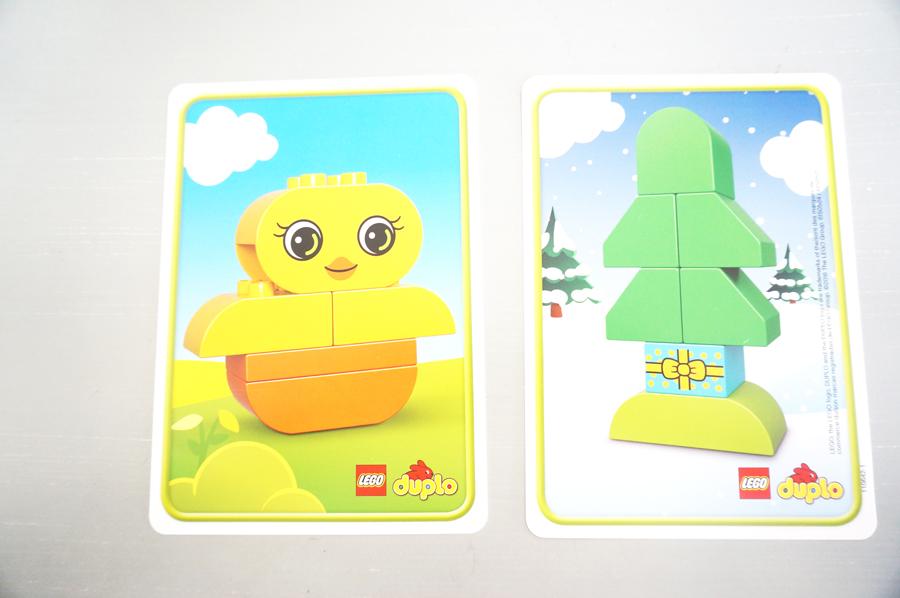 10817レゴデュプロアイディアボックスエキストラセットのカード