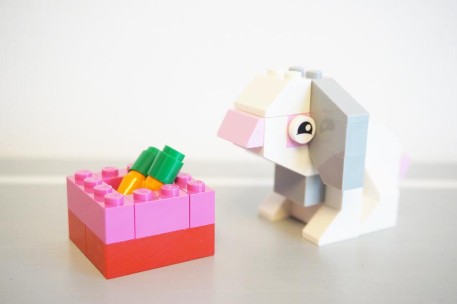 レゴうさぎとにんじん