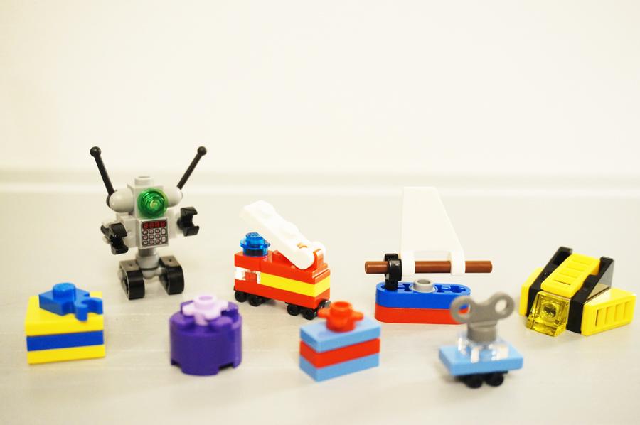 レゴクリスマストレインのおもちゃ