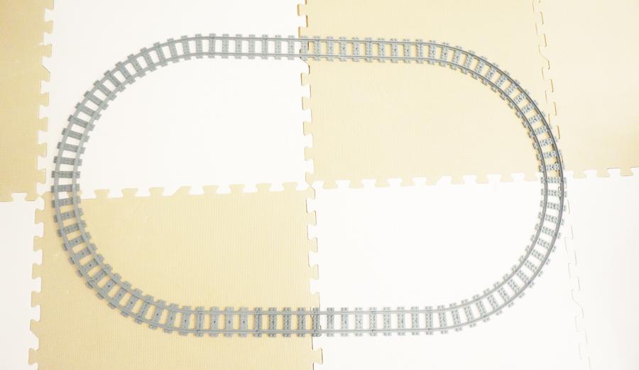 レゴトレインの線路