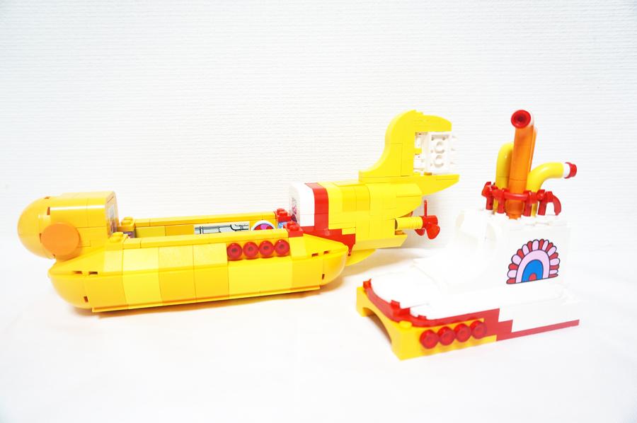 レゴ21306イエローサブマリン