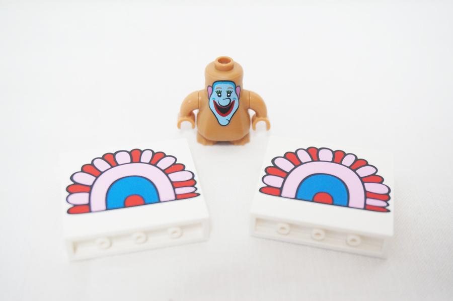 レゴビートルズのジェレミー君のミニフィグ
