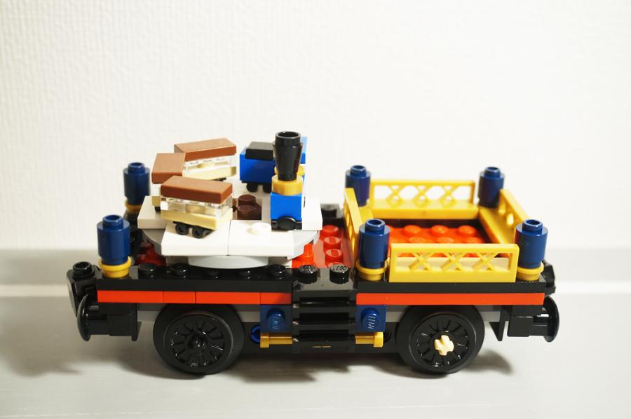 レゴクリスマストレインクリスマスツリーの客車