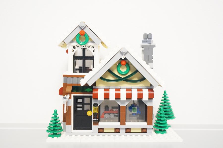 10249レゴ冬のおもちゃ屋さん