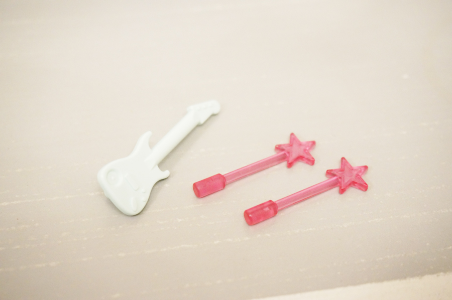 レゴのギターと妖精の杖
