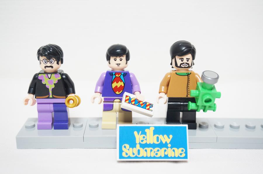 レゴのジョージハリソンのミニフィグ