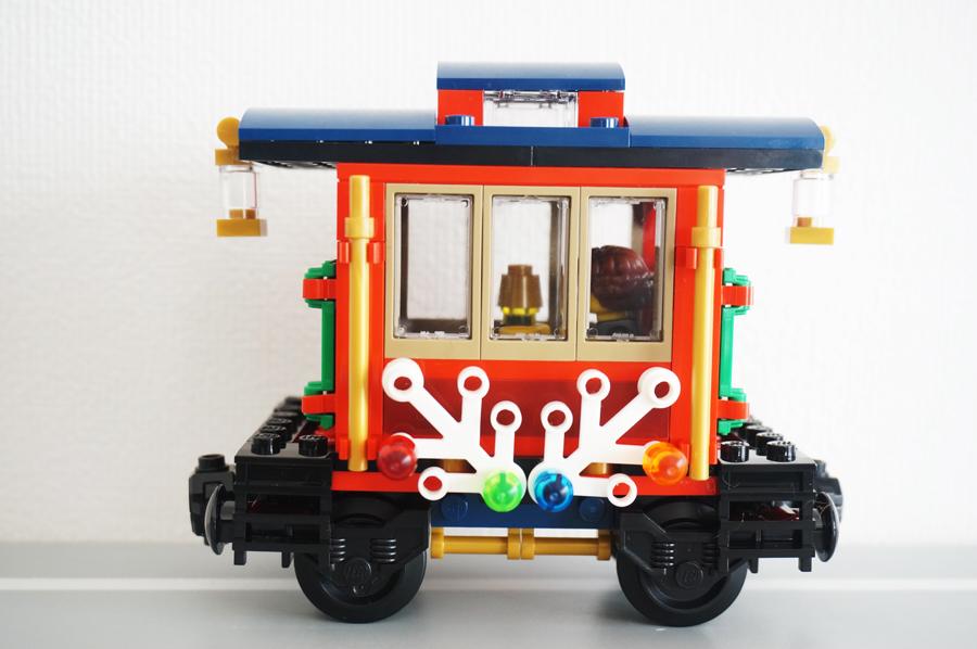 レゴクリスマストレイン