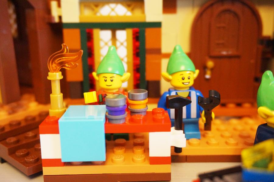 LEGO10245サンタのワークショップ