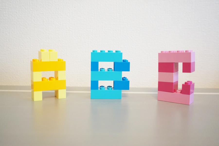 レゴ英文字