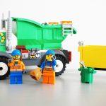 レゴジュニアゴミ収集車