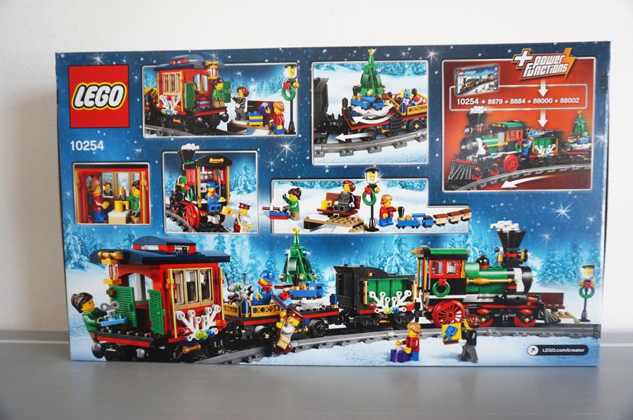 LEGO10254クリスマストレイン
