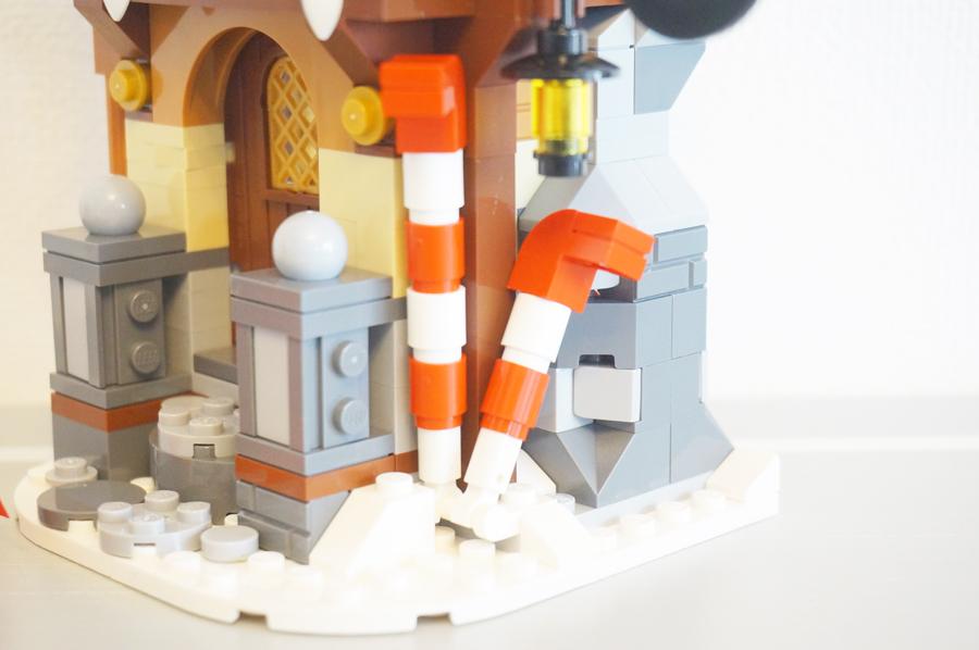 LEGO10245サンタのワークショップスティックキャンディー