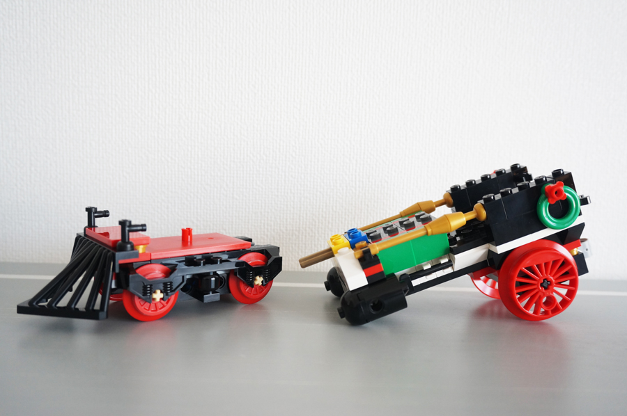 10254レゴクリスマストレインの汽車